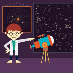 enfant-astronomie