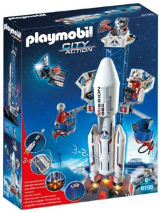 all astronomie Fusée Playmobil et Satellite