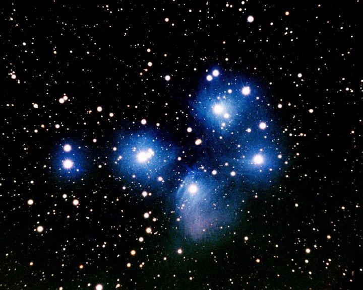 Pleiades Messier 45