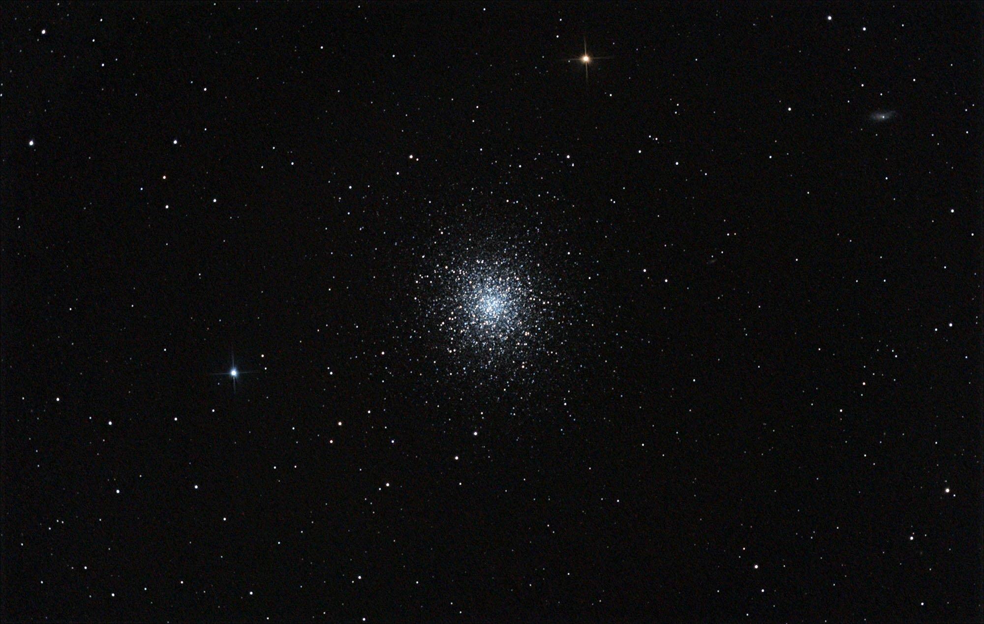 Le grand amas d'Hercule ou Messier 13